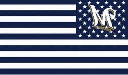 Milwaukee  Brewers  Baseball Fan Decor Man Cave  Banner Flag