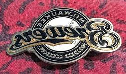 milwaukee brewers belt buckle mlb buckles new