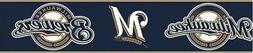 Milwaukee Brewers Border ZB3379BD MLB baseball wallpaper nav