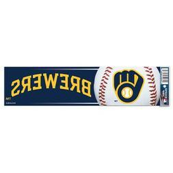 Milwaukee Brewers Bumper Sticker NEW! 3x11 Inches Free Shipp