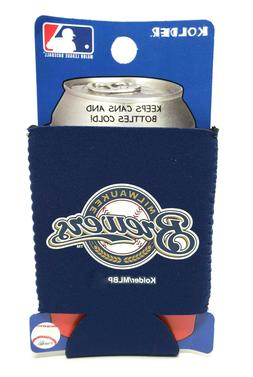 milwaukee brewers can cooler collapsible bottle holder