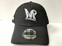 Milwaukee Brewers Cap New Era 39Thirty Stretch Fit Mesh Blac