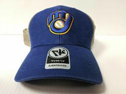 Milwaukee Brewers 47 Brand Cap Adjustable Mesh Flagship MVP