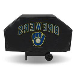 Milwaukee Brewers Economy Vinyl Grill Cover  MLB Barbecue BB