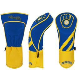 MILWAUKEE BREWERS EMBROIDERED DRIVER HEADCOVER INDIVIDUAL NE