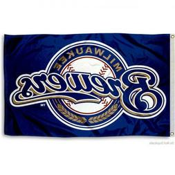Milwaukee Brewers flag New Banner Indoor Outdoor 3x5 feet US