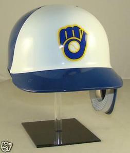 MILWAUKEE BREWERS Full Size Throwback Batting Helmet for Lef