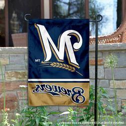 Milwaukee Brewers Garden Flag and Yard Banner