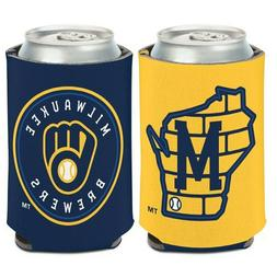 Milwaukee Brewers Logo Can Cooler 12oz Collapsible Koozie -