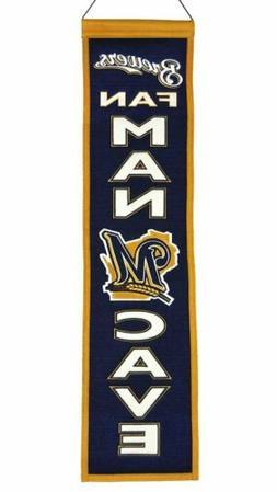 Milwaukee Brewers Man Cave Banner 2016