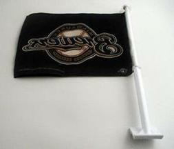 Milwaukee Brewers MLB Baseball 2 Sided Car Flag