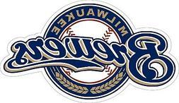 Milwaukee Brewers MLB Baseball Bumper sticker, wall decor vi