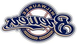 Milwaukee Brewers MLB Baseball Car Bumper Window Sticker Dec
