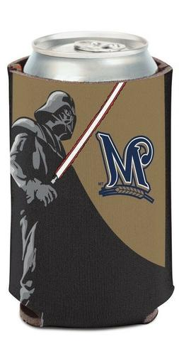 Milwaukee Brewers MLB Can Holder Cooler Bottle Sleeve Star W