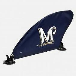 Milwaukee Brewers MLB Car Fin Team Logo Tailgate Auto Flag