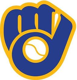 Milwaukee Brewers MLB Color Die Cut Vinyl Decal Sticker - Ch