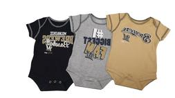 Milwaukee Brewers MLB Genuine Baby Infant Size 3 Piece Creep