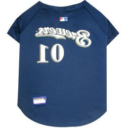 Milwaukee Brewers MLB Pets First Officially Licensed Dog Jer