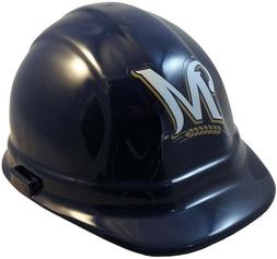 Milwaukee Brewers MLB Team Hard Hat with Ratchet Suspension