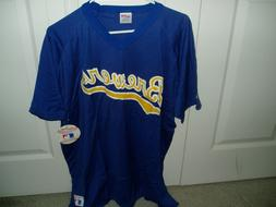 Milwaukee Brewers NL Central pullover jersey licensed MLB sh