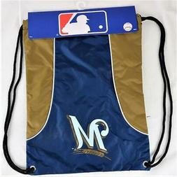 """Milwaukee Brewers Officially Licensed MLB Back Sack 18"""" x 13"""