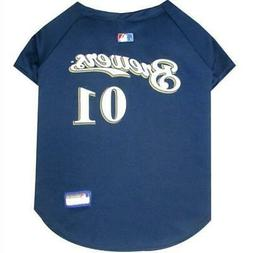 milwaukee brewers pet jersey from staygoldendoodle com