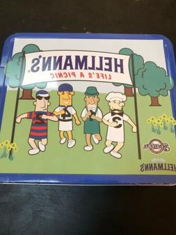 Milwaukee Brewers Racing Sausages Hellmann's Metal Lunchbo
