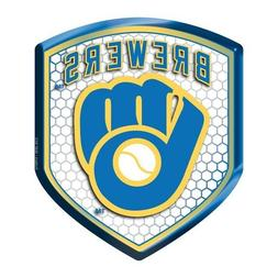 Milwaukee Brewers Reflector Decal MLB Auto Shield Team Car B