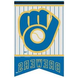 Milwaukee Brewers Retro Glove Logo Official MLB Premium Felt
