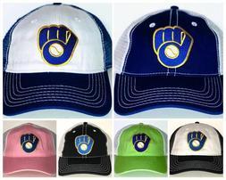 Milwaukee Brewers Retro Snapback Cap ⚾Hat ⚾CLASSIC MLB P