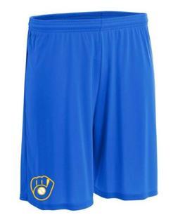 Milwaukee Brewers Shorts Size 2xl Pants T-shirt Jersey Blue