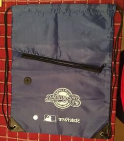 Milwaukee Brewers State Farm SGA Drawstring And Zip Up Bag 1