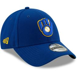 Milwaukee Brewers New Era The League 9FORTY Adjustable Hat -