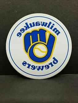 Milwaukee Brewers Vintage Logo Sticker Vinyl Vehicle Decal N