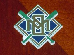MILWAUKEE BREWERS Vintage Old MLB RUBBER Baseball FRIDGE MAG