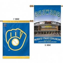 Milwaukee Brewers WC Premium 2-sided 28x40 Banner Outdoor Ho