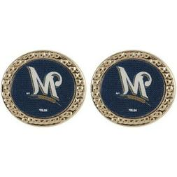 WinCraft Milwaukee Brewers Women's Round Post Earrings