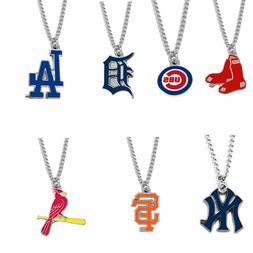 "MLB 18"" Pendant Chain Necklace"