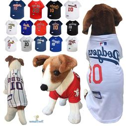 MLB Fan Pet Gear Dog JERSEY Dog Shirt for Dogs -PICK YOUR TE