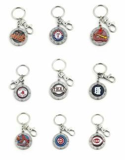 MLB Impact Keyring Keychain - Pick Your Team
