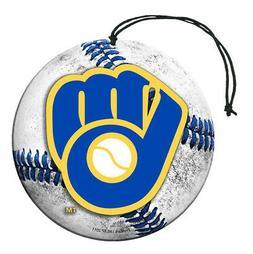 MLB Milwaukee Brewers Auto Air Freshener, 3-Pack