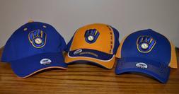 MLB  Milwaukee Brewers baseball caps, ASSORTED colors  Brand