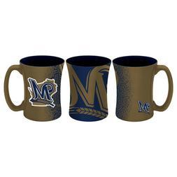 Milwaukee Brewers 14oz Coffee Mug Mocha Style MLB - Boelter