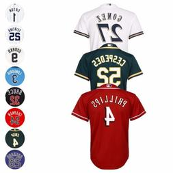 MLB Majestic Official Cool Base Player Jersey Collection You
