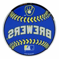MLB Officially Licensed Baseball Milwaukee Brewers Aluminum
