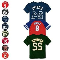 MLB Player Name & Number Jersey T-Shirt Collection Infant To