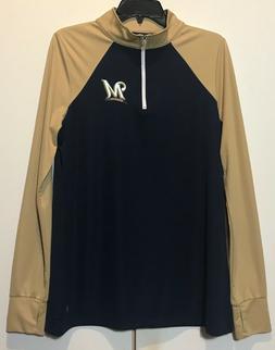 New $40 Milwaukee Brewers Women's MLB Jacket Size Large La