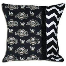 NEW Milwaukee Brewers MLB Baseball Decorative Throw Pillow
