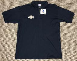 NEW MAJESTIC MLB MILWAUKEE BREWERS EMBROIDERED POLO SHIRT SI