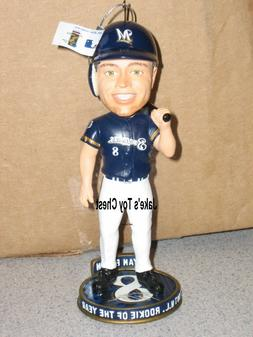 Ryan Braun Bobblehead holiday Ornament Only 504 made Milwauk